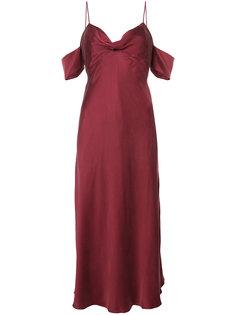 платье с драпировкой Zimmermann
