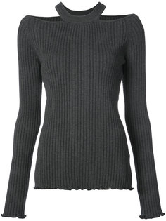 cutout ribbed top Jason Wu