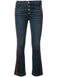 джинсы с контрастными полосками Carolyn  Veronica Beard