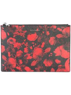 сумка с принтом роз Givenchy