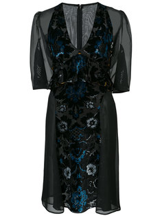 Arabesque velvet dress Anna Sui