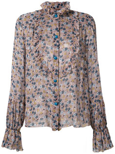 floral chiffon top Anna Sui
