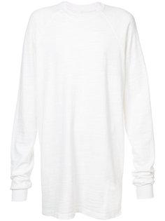 футболка мешковатого кроя Rick Owens DRKSHDW