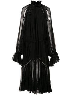 платье с вырезами на плечах Jonathan Simkhai