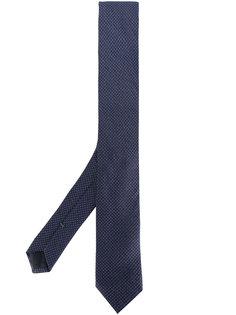 галстук с мелким узором в горох Boss Hugo Boss