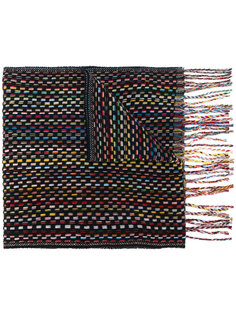 шарф с бахромой Paul Smith
