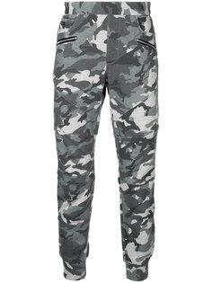 спортивные брюки с камуфляжным принтом Loveless
