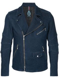 джинсовая байкерская куртка Guild Prime