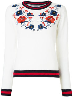 свитер с вышитыми цветами Guild Prime