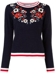 свитер с цветочной вышивкой Guild Prime