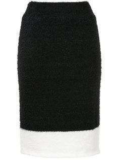 юбка-миди с контрастной полоской Loveless