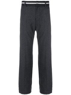 брюки с контрастным поясом Dolce & Gabbana Vintage