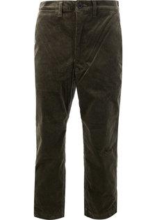укороченные вельветовые брюки Junya Watanabe Comme Des Garçons Man