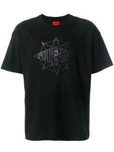 футболка  с графическим принтом 424 Fairfax