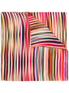 вязаный шарф в полоску Paul Smith
