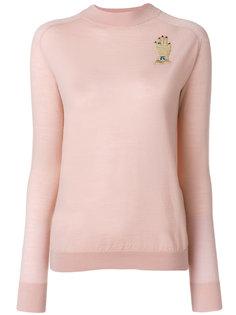 свитер с заплаткой в виде руки Vivetta
