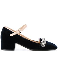 декорированные туфли Nº21