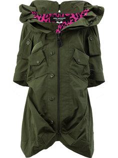 пальто нестандартного кроя Junya Watanabe Comme Des Garçons