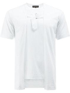 футболка с пряжкой спереди Comme Des Garçons Homme Plus