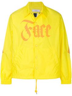 куртка-рубашка с принтом логотипа Facetasm