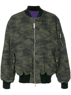 камуфляжная куртка-бомбер Unravel Project