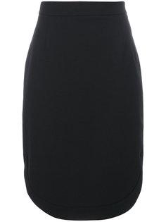 юбка с боковым разрезом  Givenchy