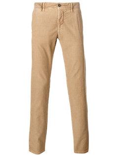 джинсовые брюки-чинос Incotex