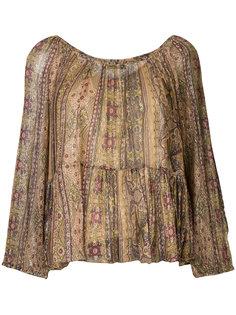 блузка с принтом Mes Demoiselles