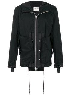 куртка на молнии с капюшоном Helmut Lang