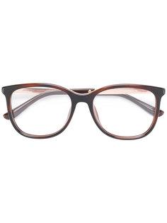 очки в квадратной оправе Jimmy Choo Eyewear
