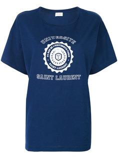 футболка Université Saint Laurent