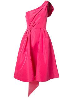 платье на одно плечо Carolina Herrera