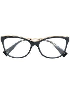 """очки в оправе """"кошачий глаз"""" с металлической деталью Marc Jacobs Eyewear"""