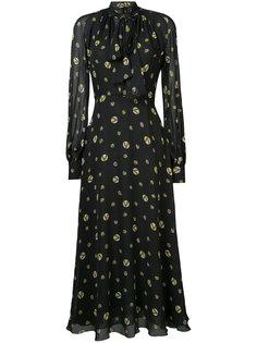 платье с рисунком Giambattista Valli