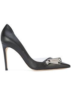 туфли с заостренным носком и молнией  Dsquared2