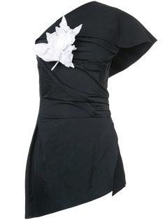 printed tie neck blouse Rosie Assoulin