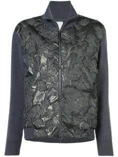 декорированная приталенная куртка на молнии Fabiana Filippi