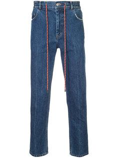 джинсы с поясом на завязках Christian Dada