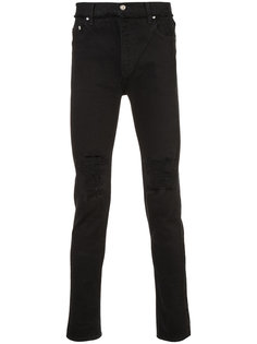 джинсы кроя слим с потертой отделкой Christian Dada