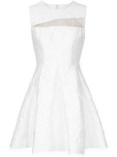 платье мини с цветочным узором Dexter Alex Perry