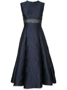 платье миди с цветочным узором Payson Alex Perry