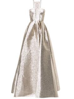 расклешенное вечернее платье Lincoln Alex Perry