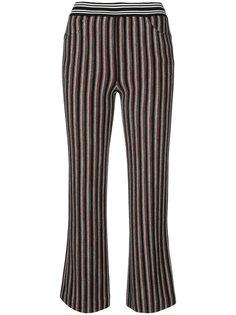 укороченные брюки в полоску  Missoni