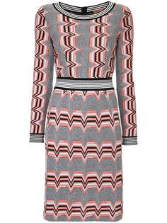 платье с узором зигзаг  Missoni
