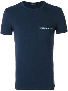 пижамная футболка с логотипом Versace