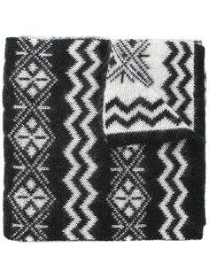 узорчатый шарф Moncler