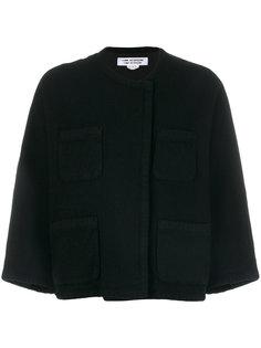 укороченная куртка с накладными карманами Comme Des Garçons Comme Des Garçons