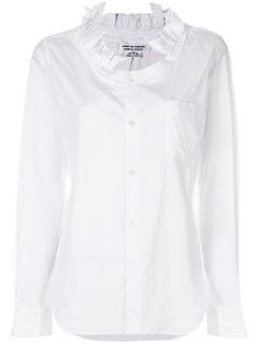 рубашка с рюшами Comme Des Garçons Comme Des Garçons