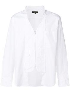 асимметричная рубашка Comme Des Garçons Homme Plus