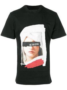 футболка с фото-принтом Icosae